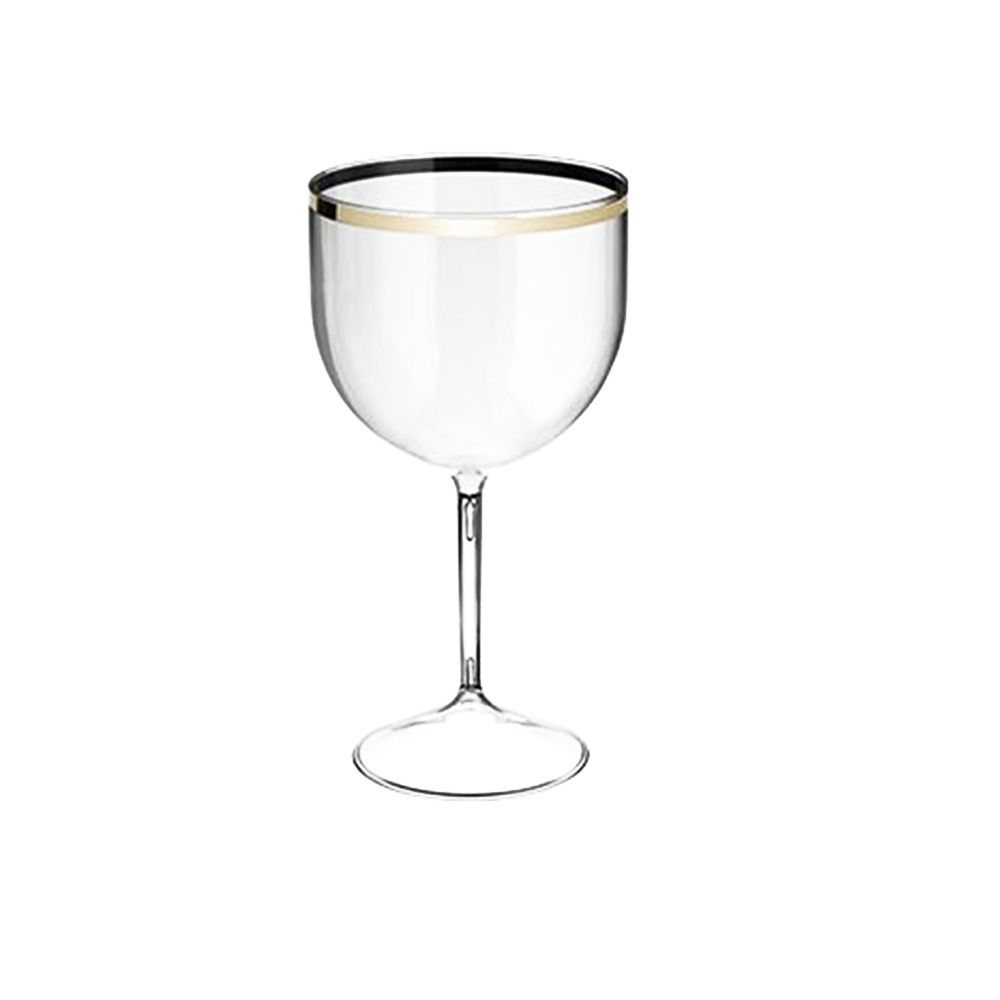 Taça de Gin Shelby Golden Transparente - 550ml