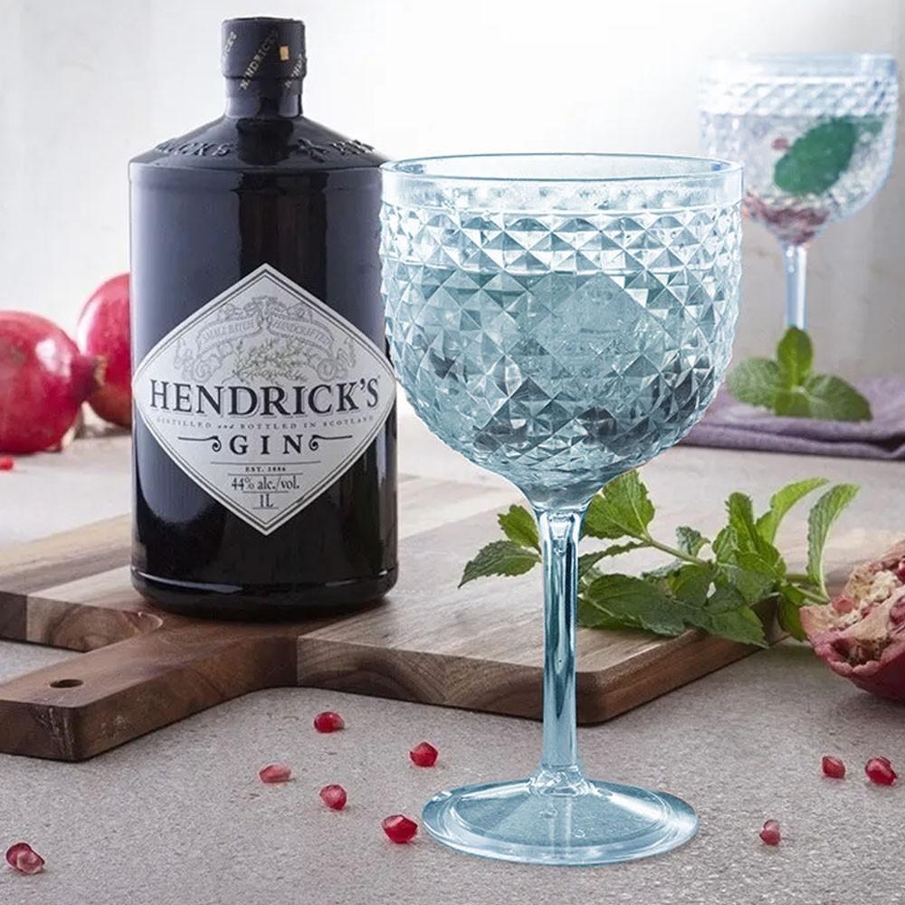 Taça Gin Luxxor 600ml Azul Cintilante