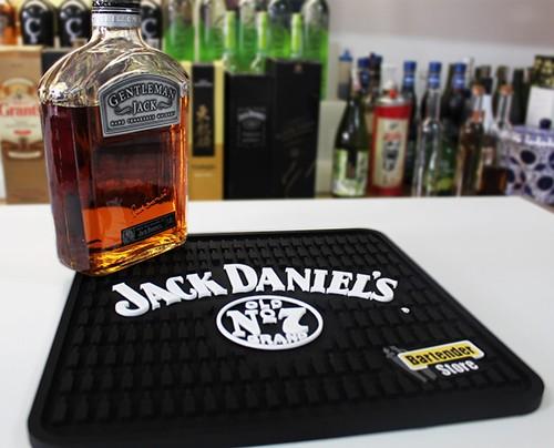 Tapete de Borracha Jack daniel's 30x30