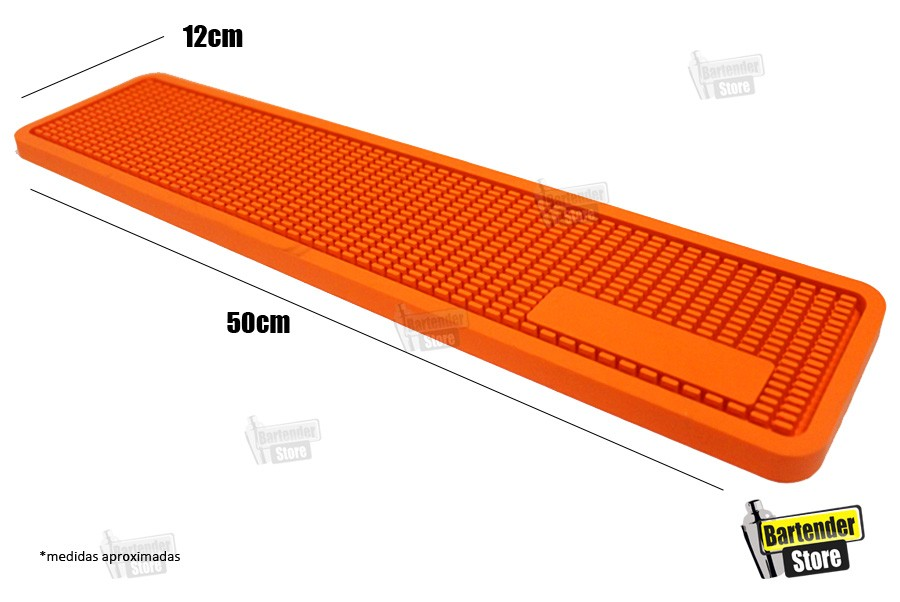 Tapete de Bar Service Mat 12x50cm - Colorido