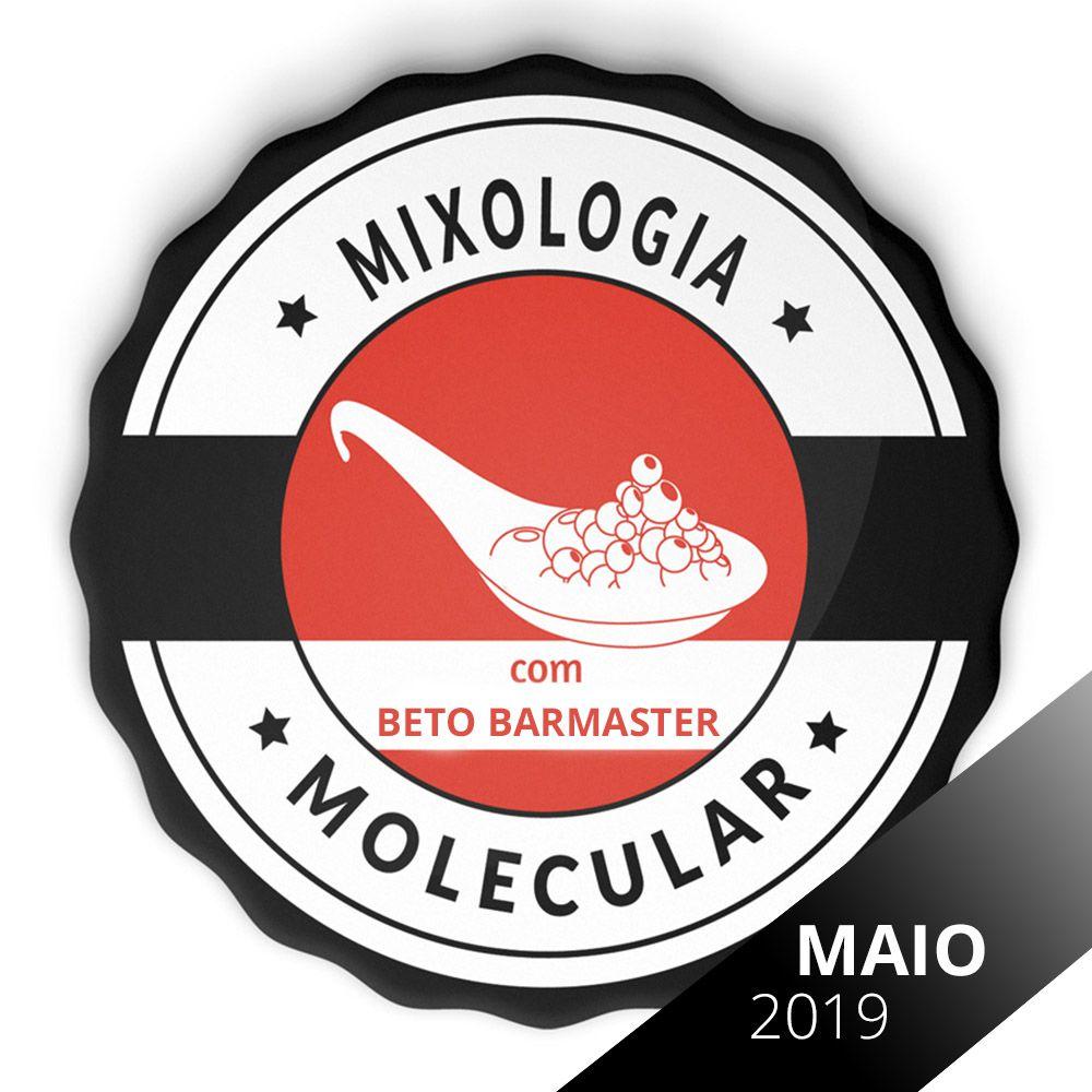 Vaga Curso de Mixologia Molecular Intensivo