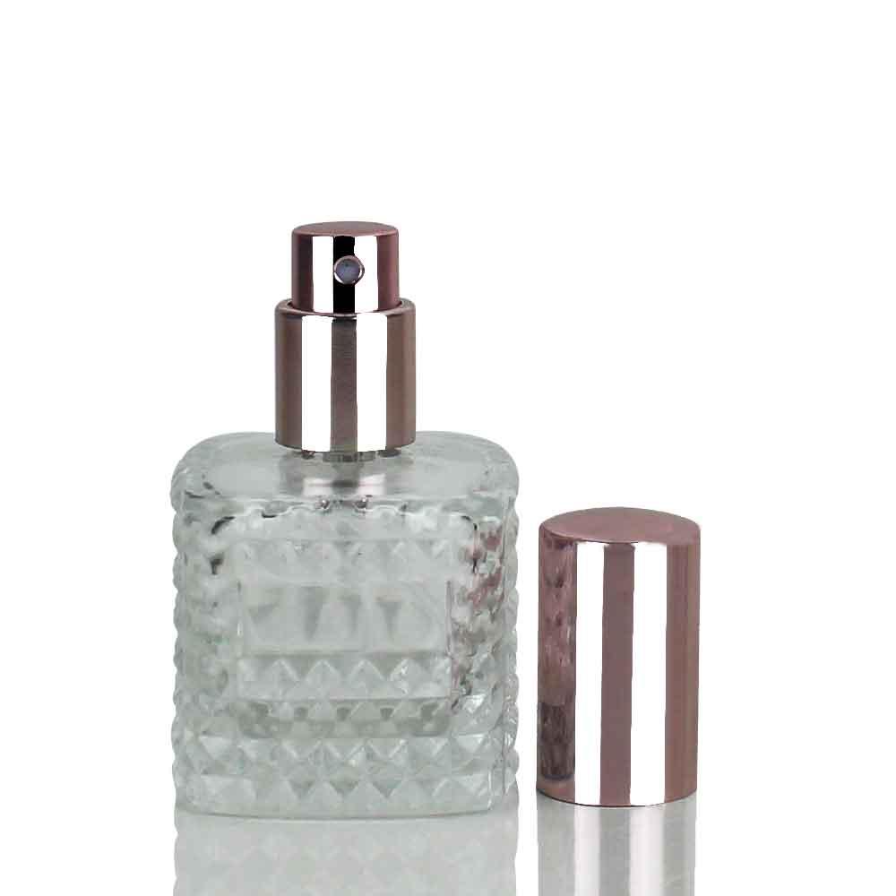 Vidro Duquesa válvula Spray Super Luxo Rosé 20ml
