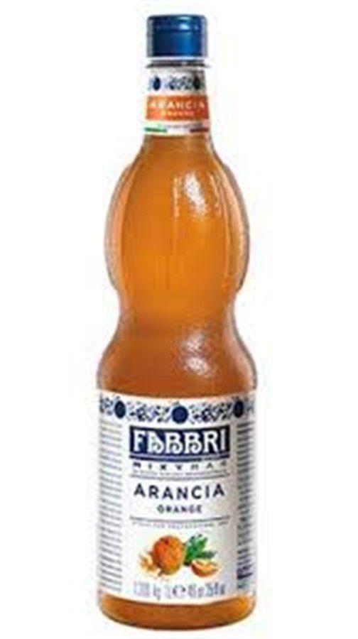 Xarope Arancia Laranja Fabbri Profissional 1Litro