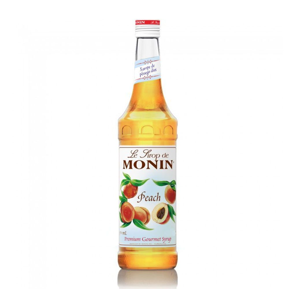 Xarope Diet Monin Francês Pêssego Diet 700ml