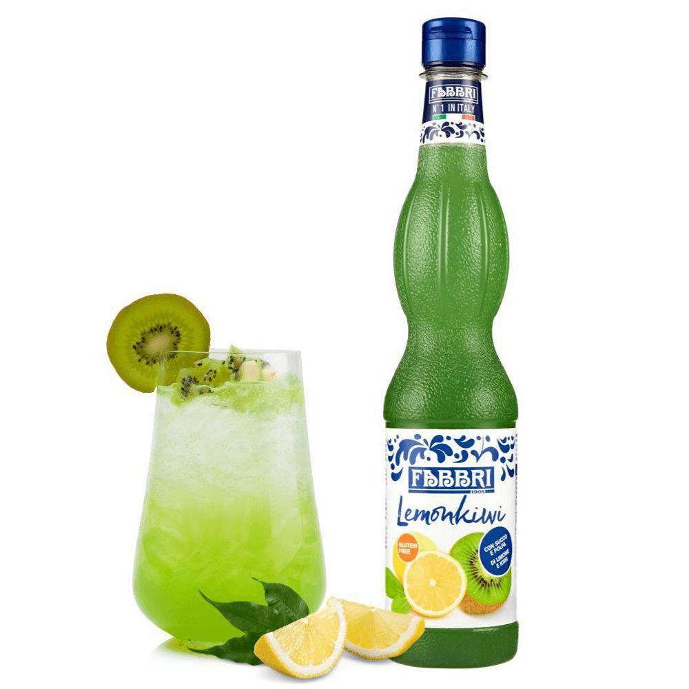Xarope lemonkiwi Limão Kiwi Fabbri Profissional 560ml - Validade: 22/05/2021