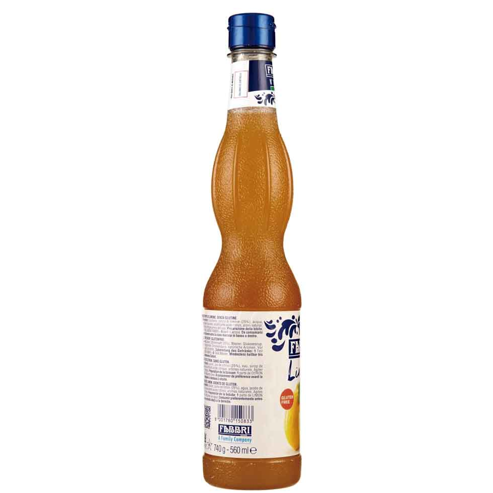 Xarope Limone Limão Fabbri Profissional 560ml
