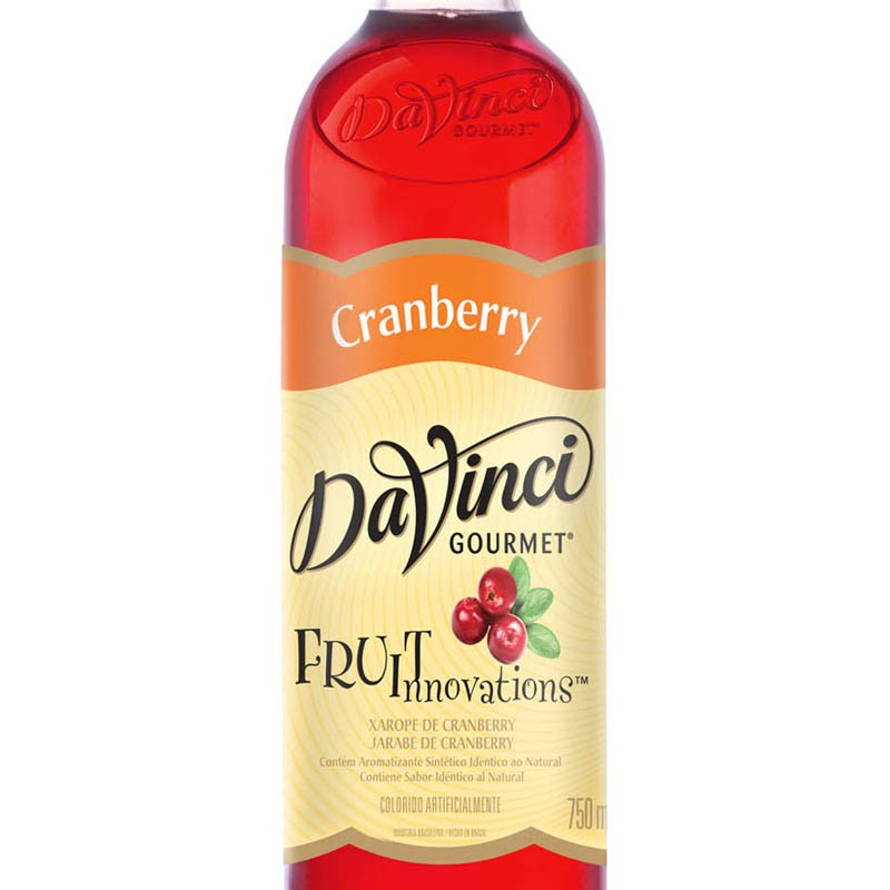 Xarope para Drinks DaVinci -  Cranberry