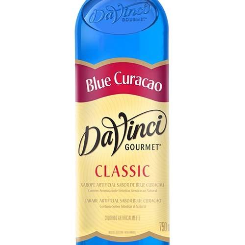 Xarope para Drinks DaVinci -  Curaçau Blue