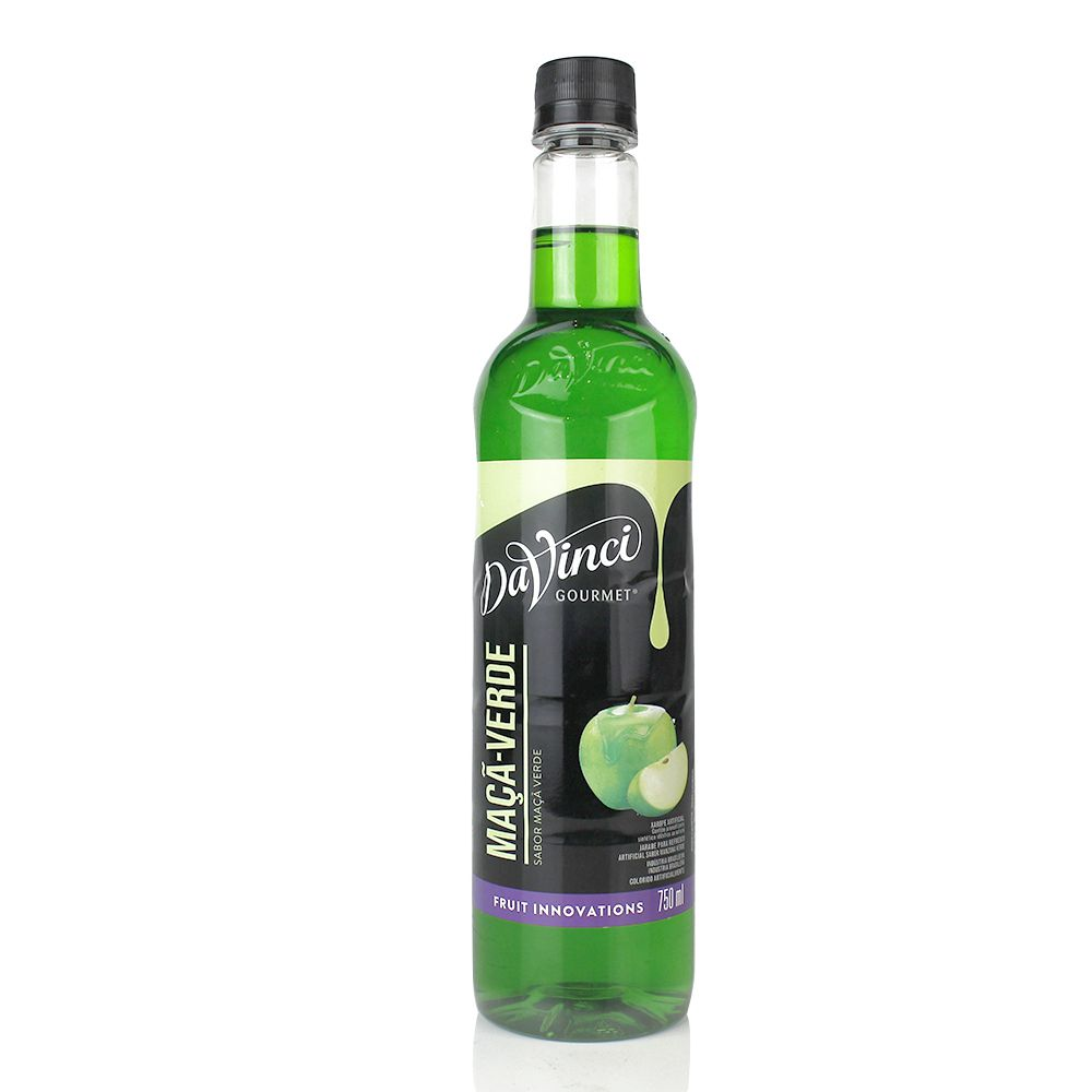 Xarope para Drinks DaVinci -  Maça Verde