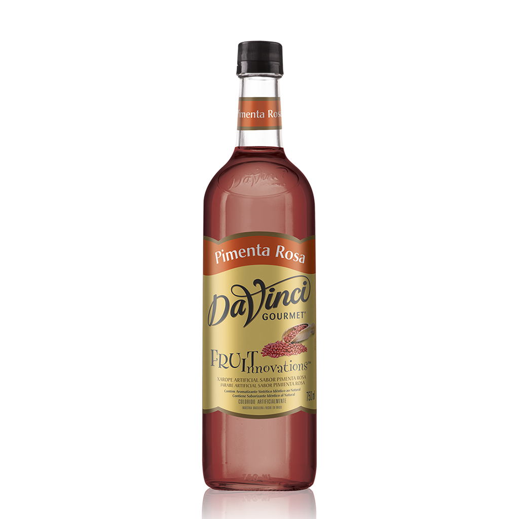 Xarope para Drinks DaVinci -  Pimenta Rosa