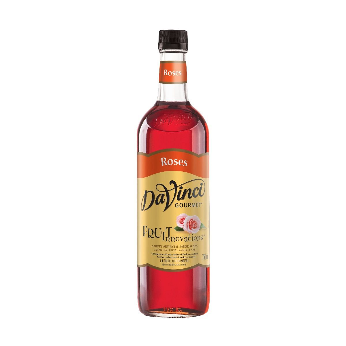 Xarope Rosas DaVinci 750ml