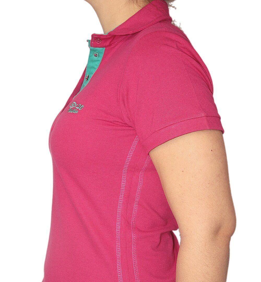Camiseta Polo Pink PSC