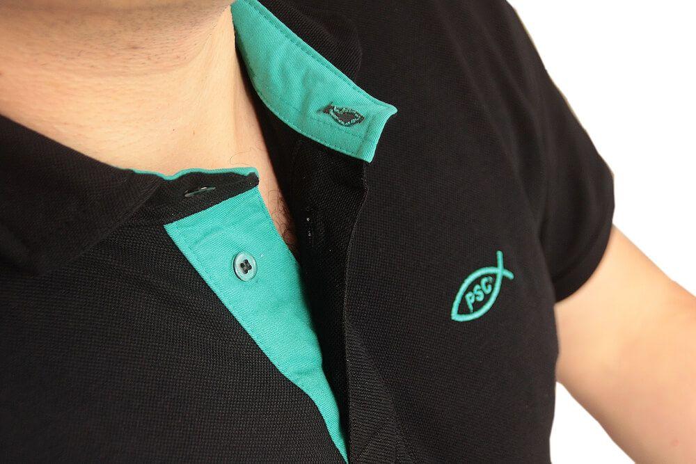 Camiseta Polo Preta PSC