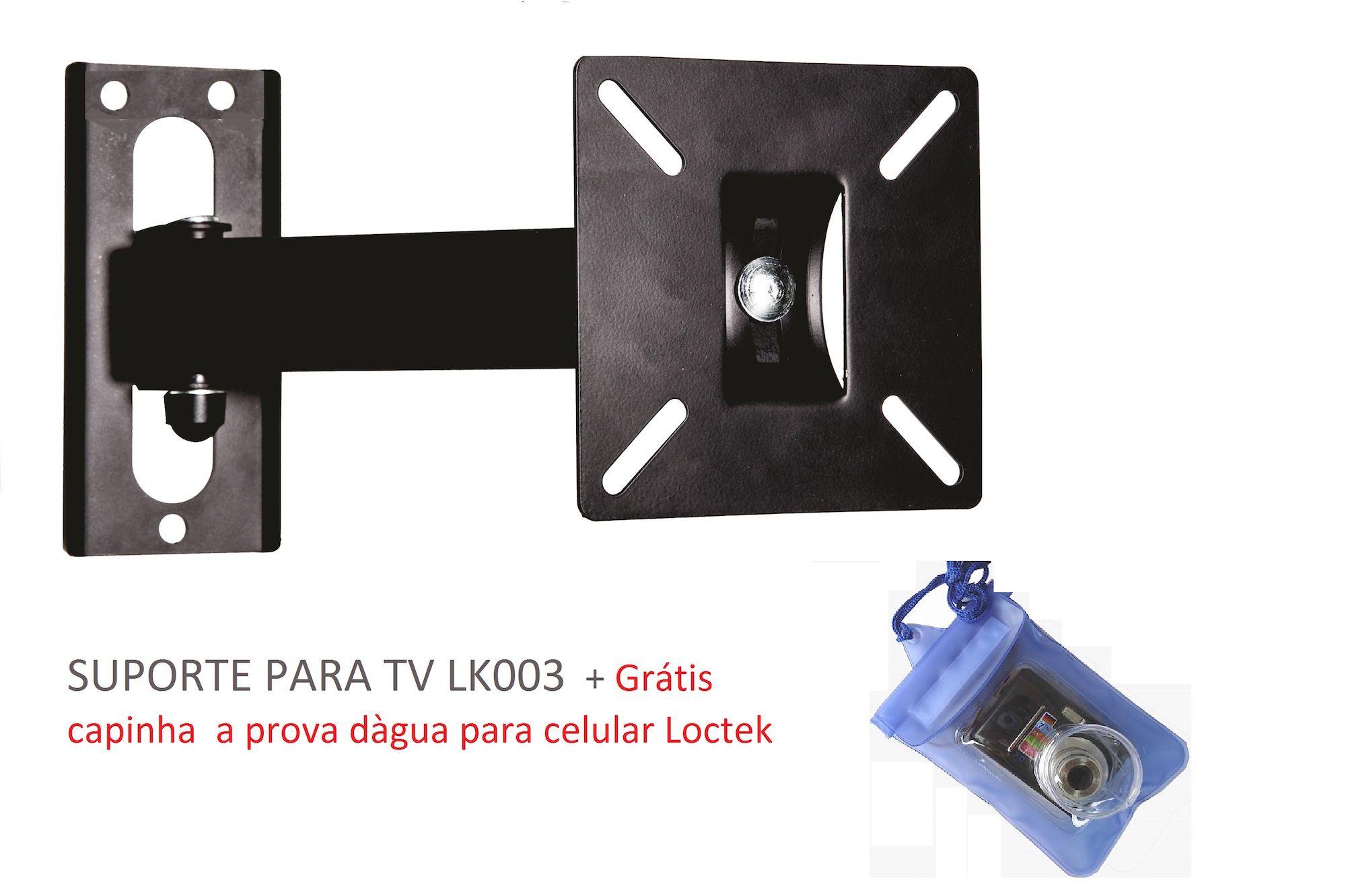 SUPORTE ARTICULADO PARA TVS DE 10