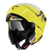 Capacete Shark Openline Hi Visibility Yellow YKY