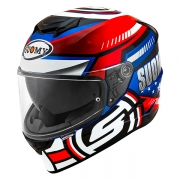 CAPACETE SUOMY STELLAR AMERICA STAR BLUE/RED