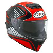 Capacete Suomy Stellar Cruiser Red Fluo