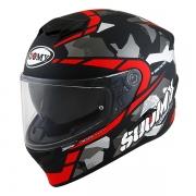 CAPACETE SUOMY STELLAR RACE SQUAD MATT RED