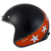 Capacete Zeus 380h Matt Black/K36 Orange