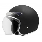 Capacete Zeus 380h V2 Matt Black + viseira bubble