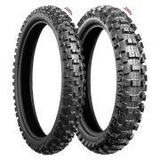 Pneus Bridgestone M403 90/100 R21 e M402 110/100 R18