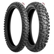 Pneus Bridgestone M603 90/100 R21 e M604 120/80 R19