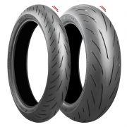 Pneus Bridgestone Battlax S22 120/70 R17 e 180/55 R17