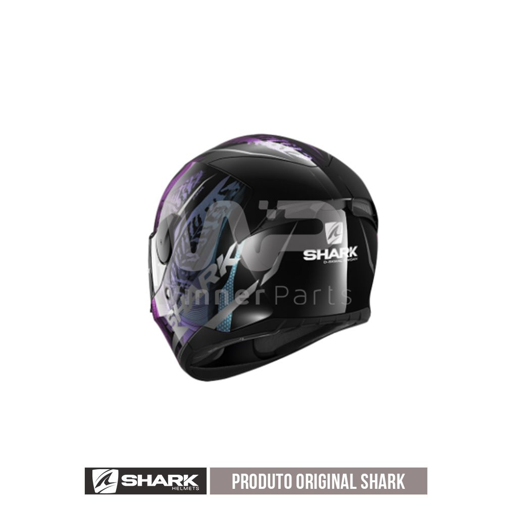 CAPACETE SHARK D-SKWAL 2 SHIGAN KVX