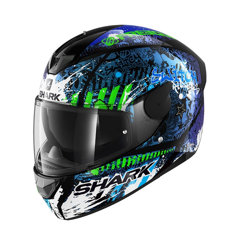 CAPACETE SHARK D-SKWAL 2 SWITCH RIDER KBG