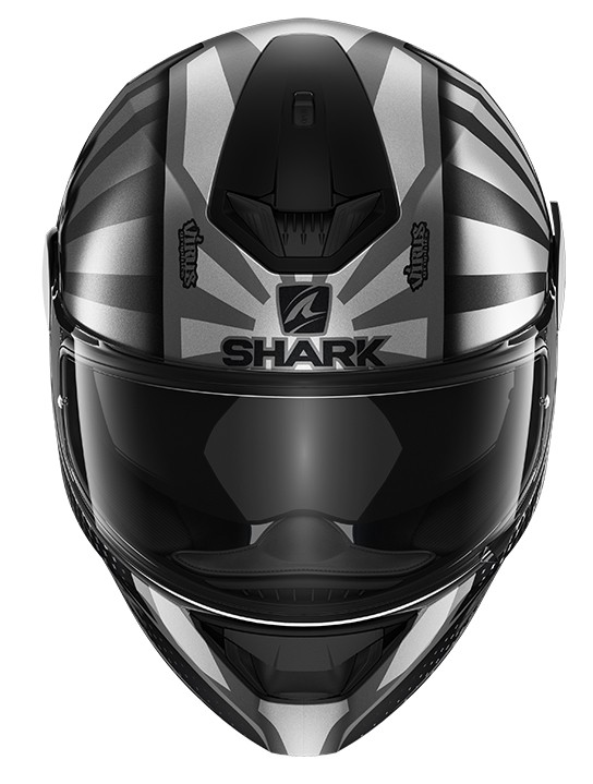 CAPACETE SHARK D-SKWAL 2 ZARCO 2019 MAT ASA