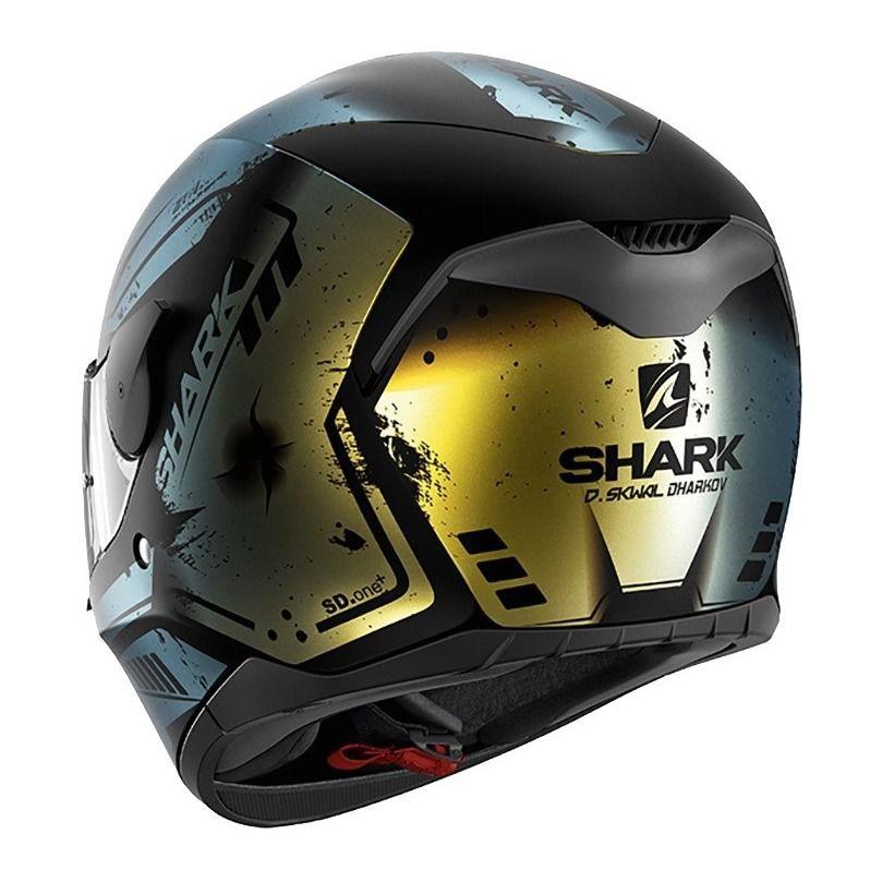 Capacete Shark D-Skwal Dharkov KGX