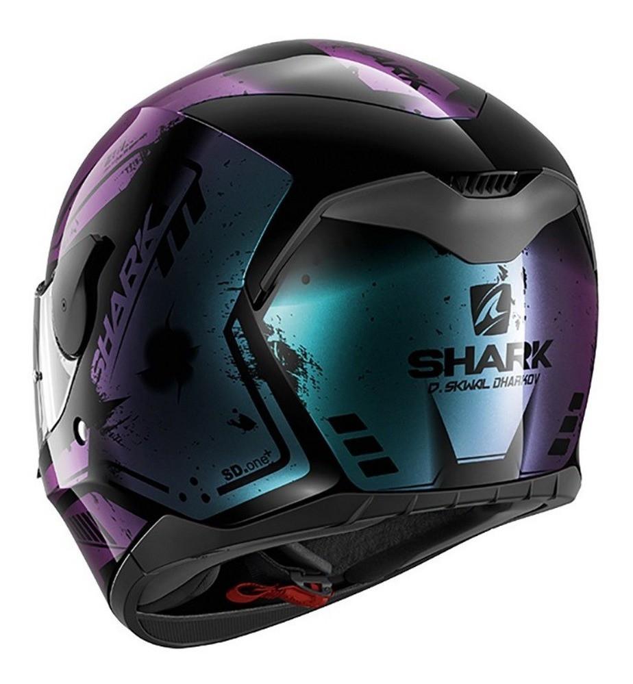 CAPACETE SHARK D-SKWAL DHARKOV KVX