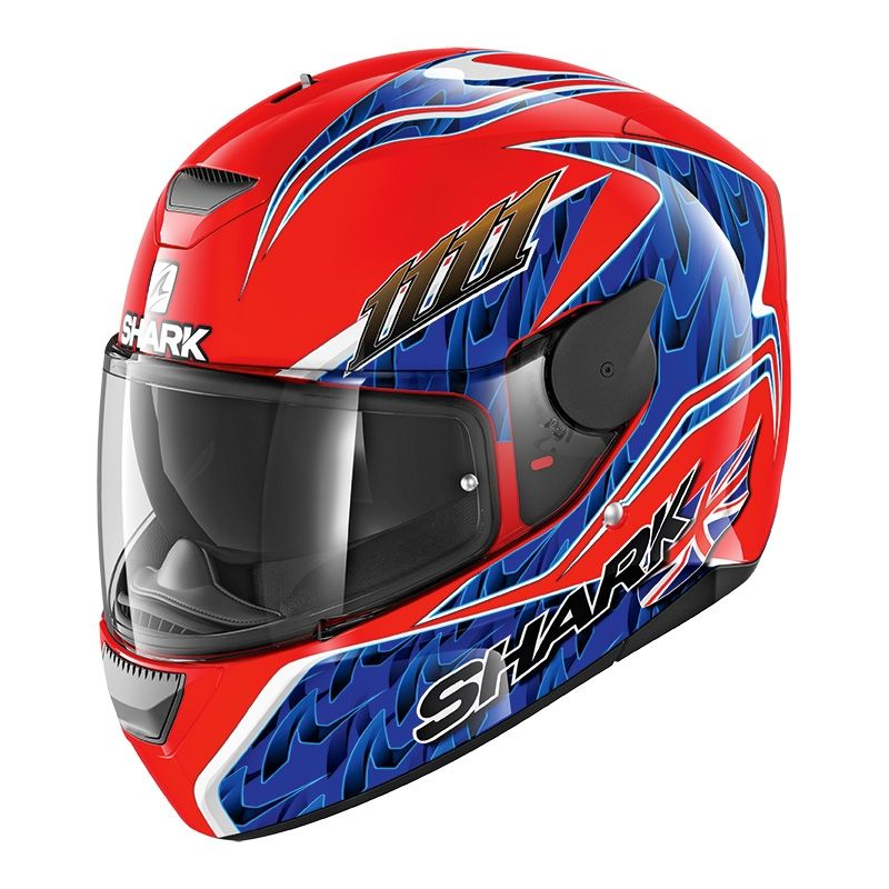 Capacete Shark D-Skwal Forgaty Replica RBB
