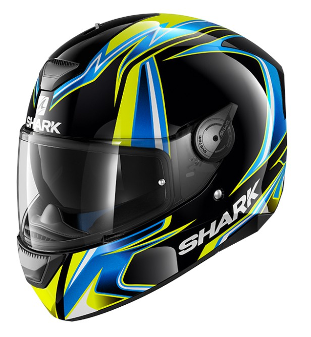 CAPACETE SHARK D-SKWAL REPLICA SYKES KBY