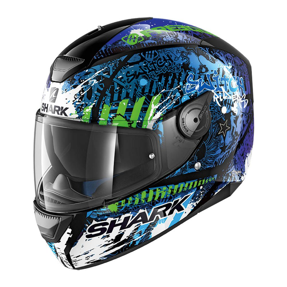 Capacete Shark D-Skwal Switch Rider 2 KBG