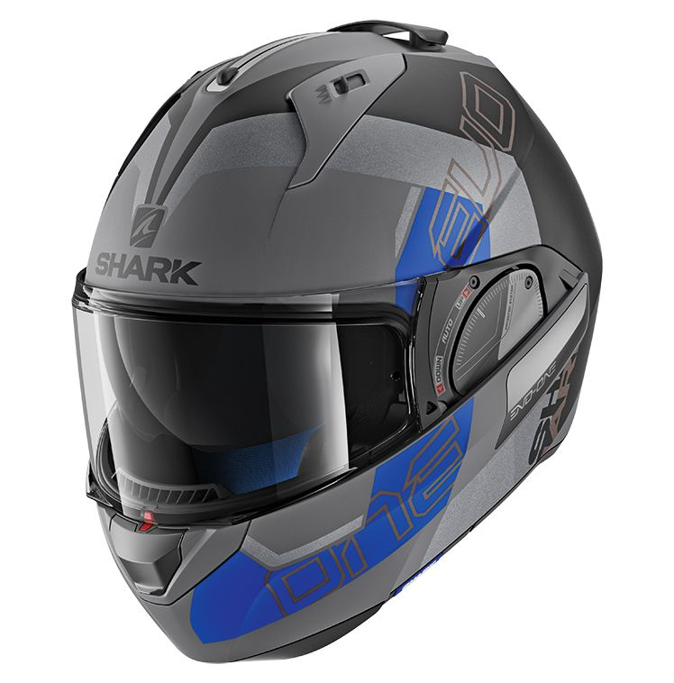 Capacete Shark Evo One V2 Slasher Matt AKB