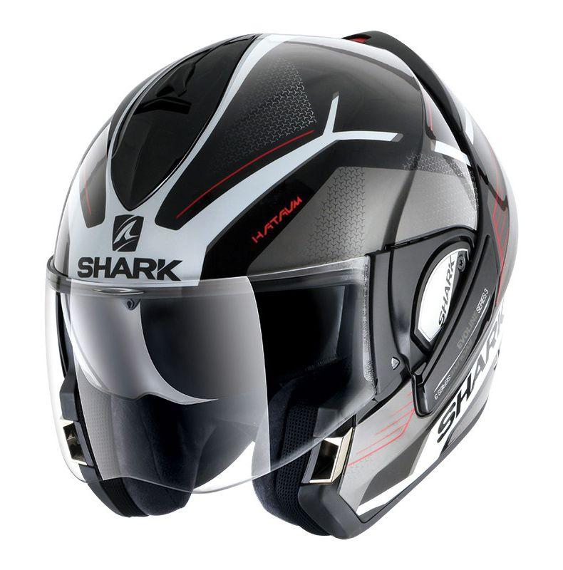 Capacete Shark Evoline Serie 3 Hataum Glossy KWR