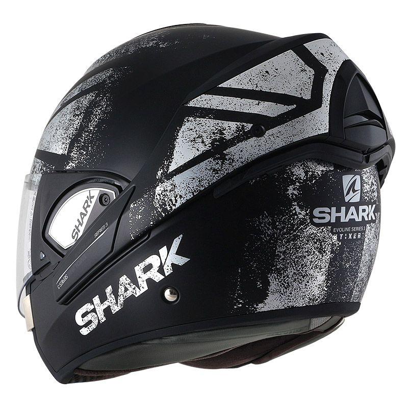 Capacete Shark Evoline Serie 3 Tixer Matt KUS