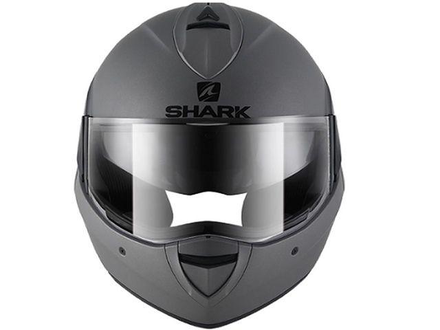 CAPACETE SHARK GUN METAL MATT AMA