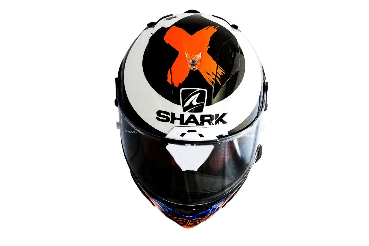 CAPACETE SHARK RACE-R PRO REPLICA LORENZO 2019 KBR