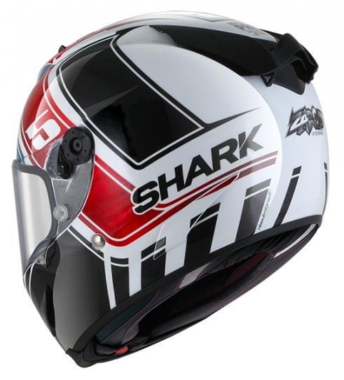 CAPACETE SHARK RACE R PRO ZARCO GP DE FRANCE GLOSSY WBR