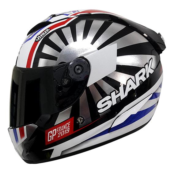CAPACETE SHARK RACE R PRO ZARCO GP FRANCE 2019 KUR