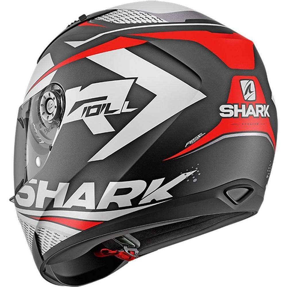Capacete Shark Ridill 1.2 Stratom Matt KWR