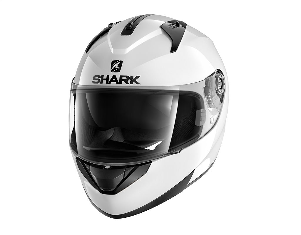 Capacete Shark Ridill Blank WHU