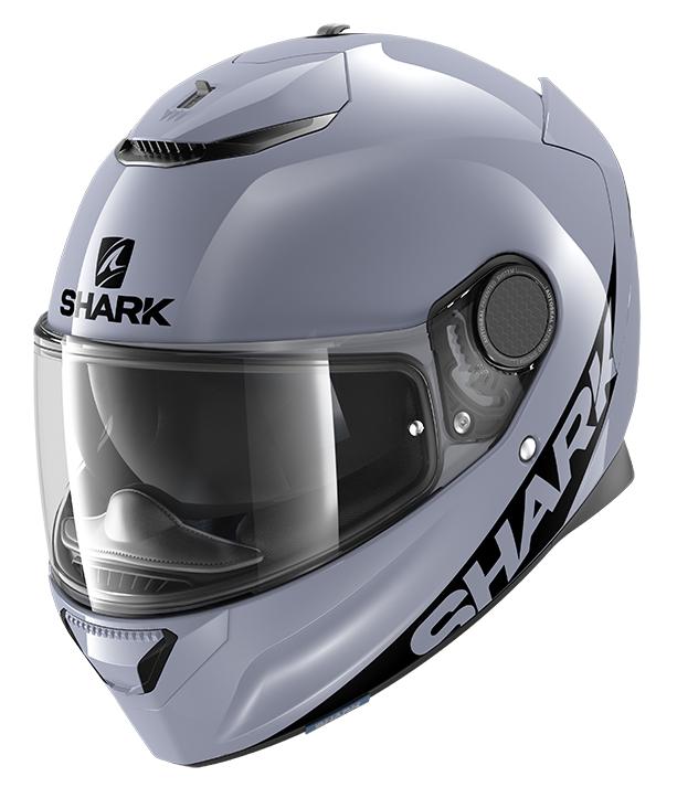 CAPACETE SHARK SPARTAN 1.2 BLANK SAK