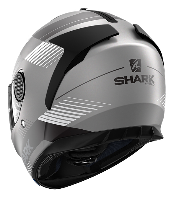 CAPACETE SHARK SPARTAN 1.2 STRAD MAT AKS