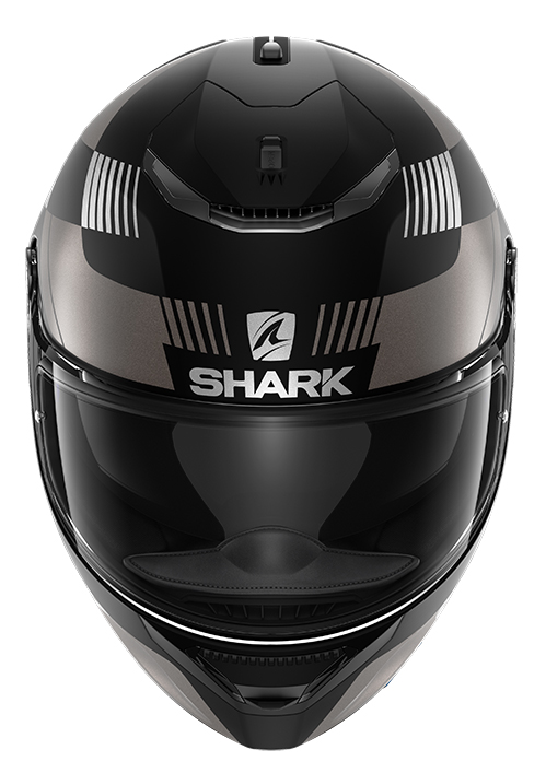 CAPACETE SHARK SPARTAN 1.2 STRAD MAT KAS