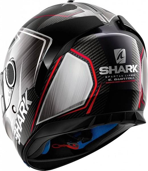 Capacete Shark Spartan Carbon Replica Guintoli DUR