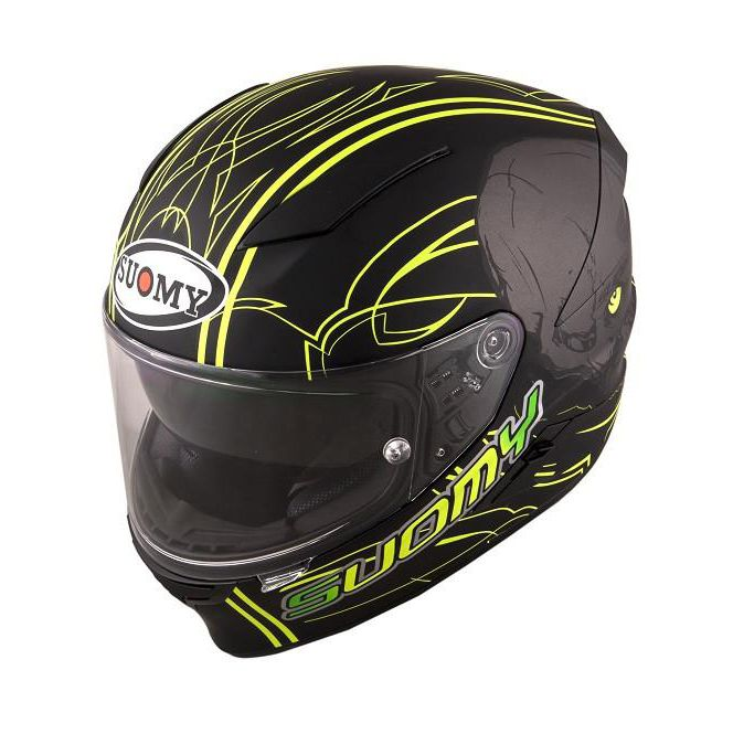 Capacete Suomy Speedstar Amlet Matt Yellow