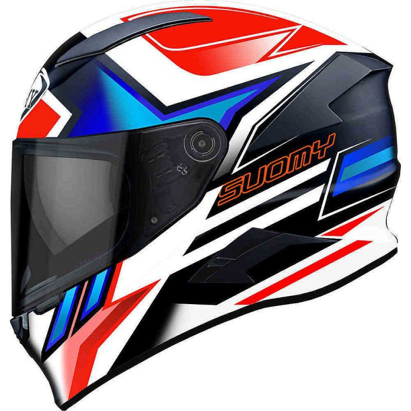 Capacete Suomy Speedstar Asymmetric Blue/Red